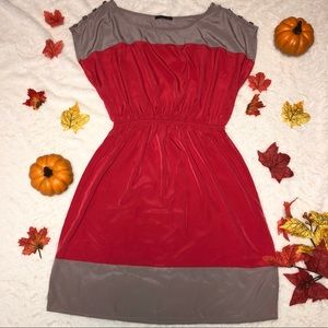 Dresses & Skirts - Grey and Pink Dress